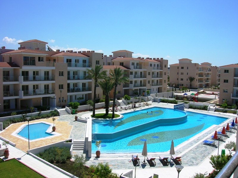 Luxusn� 2-lo�nicov� apartm�n Paphos Park